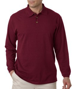 UltraClub mens Long-Sleeve Classic Pique - Red Classic Windshirt Shopping Results