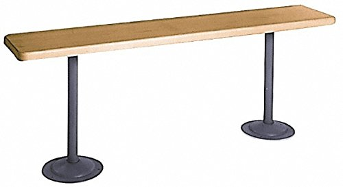 10 Ft. Long x 9-1/2 Inch Wide 1-1/4 Inch Thick, Maple Wood Bench (Maple Wide Bench)