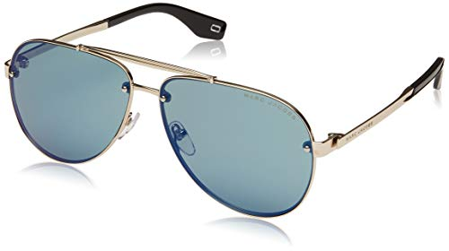 - Marc Jacobs Women's Marc 317/S Light Gold/Green/Blue Mirror One Size