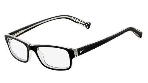 Nike Eyeglasses 5507 001 Black Demo 45 15 - Eyeglasses Nike Womens