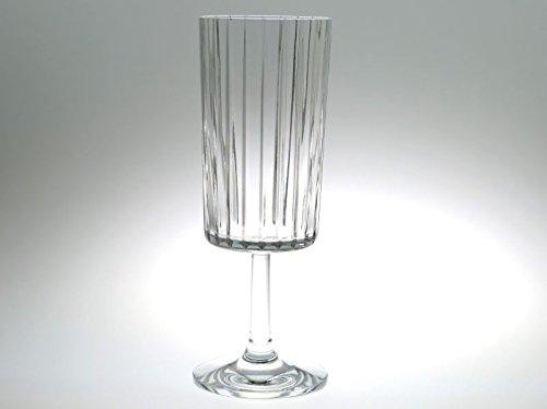 バカラ グラス ● ハーモニー ウォーターゴブレット 18cm 直線カット クリスタル Harmonie B07FDYN3HR