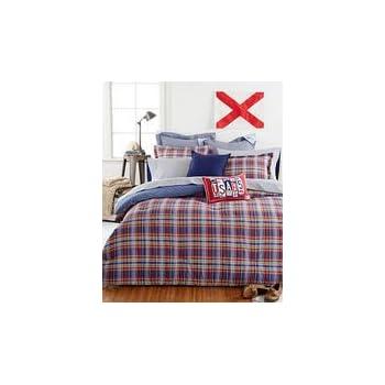 Tommy Hilfiger Stanford Plaid Comforter Set, Twin