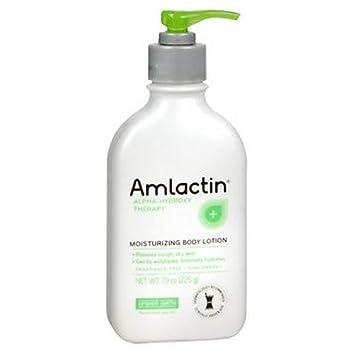 AMLACTIN 12 Moisturizing Body Lotion 8 oz Value Pack of 3