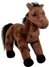 Plush Brown Standing Horse (Jigglypuff Mascot Costume)