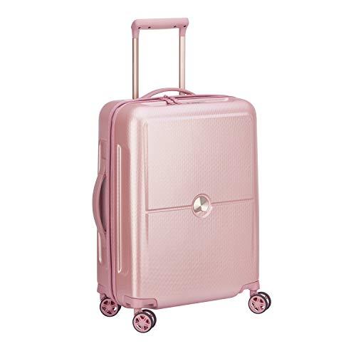 DELSEY PARIS TURENNE Hand Luggage, 55 cm, 40 liters, Pink (Pivoine)
