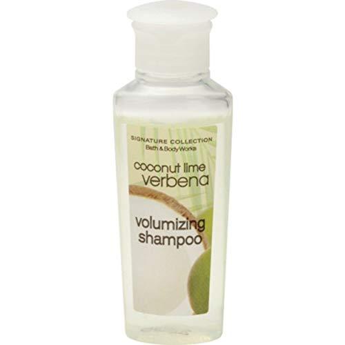 Bath & Body Works Volumizing Coconut Lime Verbena Shampoo. Lot of 24 each 0.75oz Bottles. Total of 18oz. by Bath & Body Works