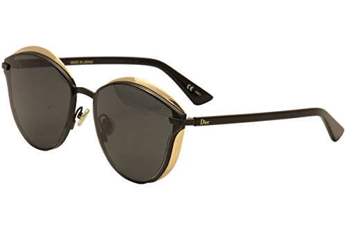 Christian Dior Women's Murmure/S P8A/Y1 Black/Gold Sunglasses 62mm - Dior Sunglasses Prescription