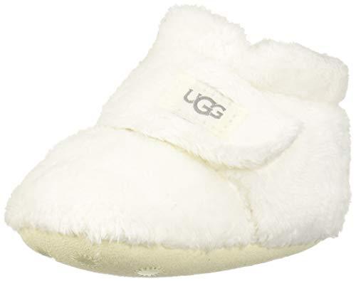 UGG Baby BIXBEE Crib Shoe, Vanilla, 0/1 M