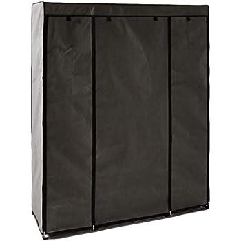 Amazon Com Sunbeam Storage Closet With Shelving Grey