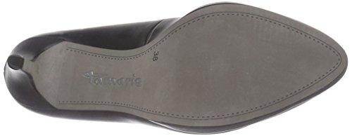 Tamaris 22448 - zapatos de tacón cerrados de material sintético mujer negro - Schwarz (Black Matt 020)