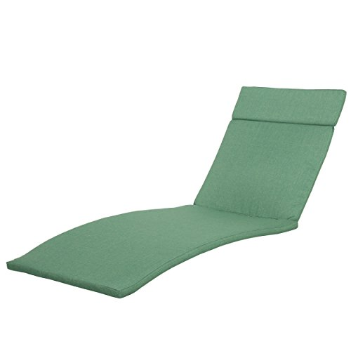 Lakeport Patio ~Outdoor Chaise Lounge Chair Cushions (Only)(Set of 2)(Jungle Green)