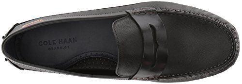 Black US Leather Haan Ii Textured M Penny Loafer Driver Cole Men's Coburn O8wqzwF