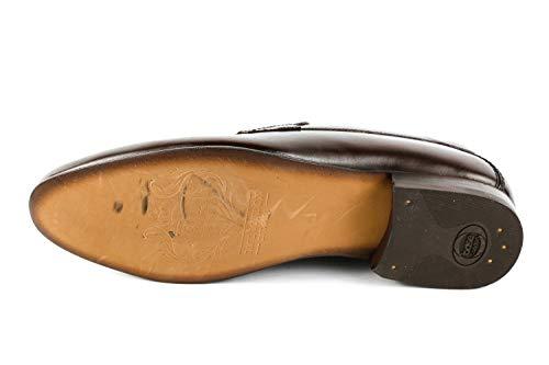 de Lisa 035 para Base London Mocasines Piel BL6 Marrón marrón Hombre BqpWxZIwRx