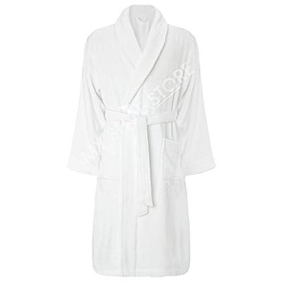 Luxury Egyptian Cotton Toweling Bath Robe Dressing Gown Velour Towel Bathrobes
