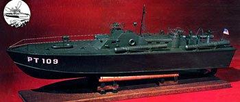 PT-109 Wooden Boat Kit by Dumas