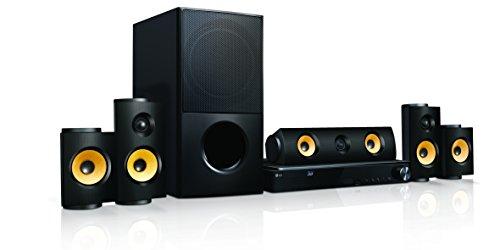 LG LHA825 5.1 3D Blu-ray Heimkinosystem (1200 Watt, WLAN, Smart TV, DLNA, Bluetooth, 1080p Upscaling) schwarz