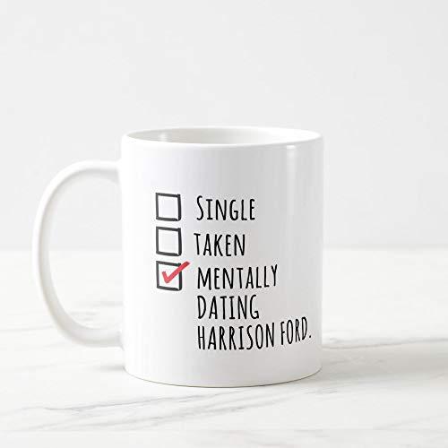 Boyce22Par Harrison Ford Mug Millennium Falcon Indiana Jones Mug Han Solo Mug Mentally Dating Celebrity Mugs Harrison Ford Signed Han Solo