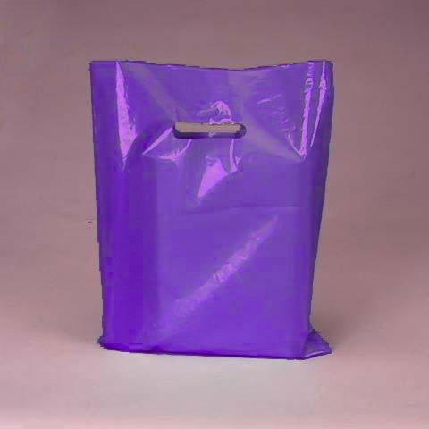 50-pack-purple-opaque-cut-out-handle-9-x-12-inch-size-retail-merchandise-plastic-bags
