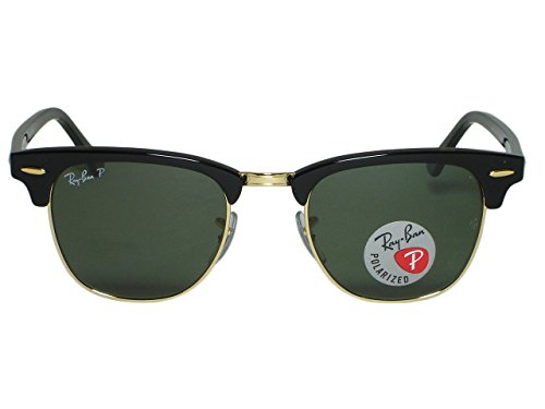 Ray Ban RB3016 Clubmaster W0366 Tortoise/Arista Sunglasses - Ray-ban W0366 Rb3016 Clubmaster
