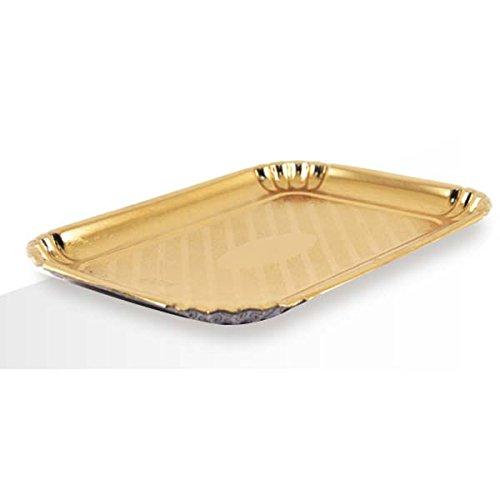 Bandejas de cartón color dorado para repostería pastelería - conf. 10 kg-: Amazon.es: Hogar