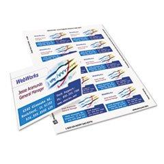(3 Pack Value Bundle) AVE8870 Inkjet Matte Business Cards, 2 x 3 1/2, White, 10/Sheet