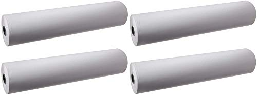 School Smart Butcher Kraft Paper Roll, 50 lb, 36 Inches x 1000 Feet, White (Pack of 4) by School Smart (Image #2)