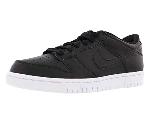 Nike Mens Dunk Low Black/Black/White Skate Shoe 9 Men US