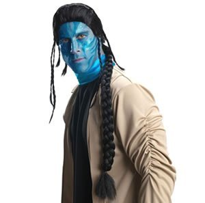 Avatar Body Suit (Jake Sully Wig Costume)