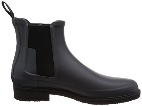Rubber Shoe M Black Men's High Ankle Hunter Original Rain Slate Dark Chelsea Refined 0w4xCq