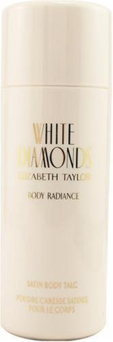 White Diamonds By Elizabeth Taylor For Women, Satin Body Talc, 3-Ounces