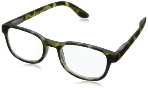 Peepers Style Four (Debonair) Square Reading Glasses,Green tortoise, - Tortoise Green The