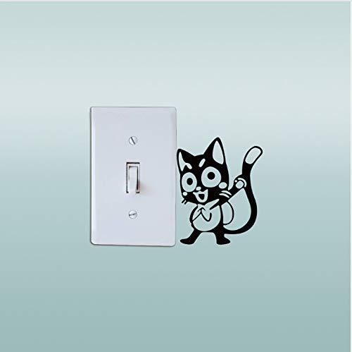 Interruptor Pegatina Anime Fairy Tail Happy Switch Sticker ...
