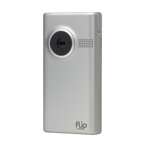 Flip MinoHD Video Camera 4 GB, 1 Hour (3rd Generation) - Silver (Discontinued by Manufacturer)