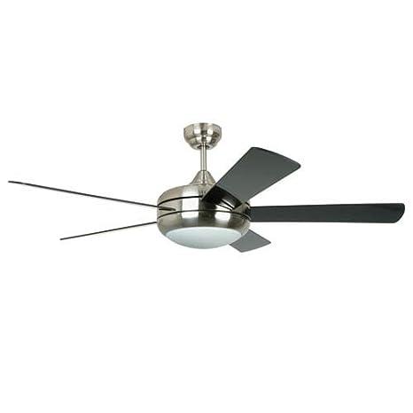Ellington titan 52 ceiling fan in satin chrome amazon ellington titan 52quot ceiling fan in satin chrome aloadofball Image collections