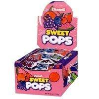 Charms Sweet Pops - 48 Lollipops/Box -