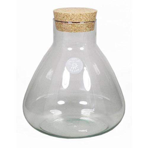 INNA-Glas Set 2 x Botella de Vidrio Peppa, con Tapa de Corcho ...