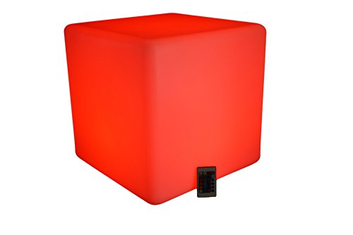 "17"" Illuminating Seating Cube"
