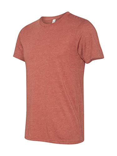 Bella-Canvas C3413 Unisex Short Sleeve Tee - Clay Triblend, Extra Large