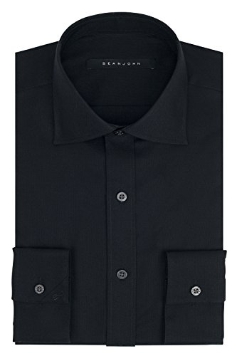 sean-john-mens-regular-fit-solid-spread-collar-dress-shirt-black-175-neck-34-35-sleeve
