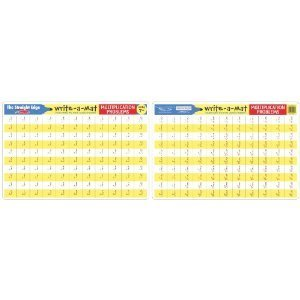 4 Write a Mat Basic Math Skills Set by The Straight Edge