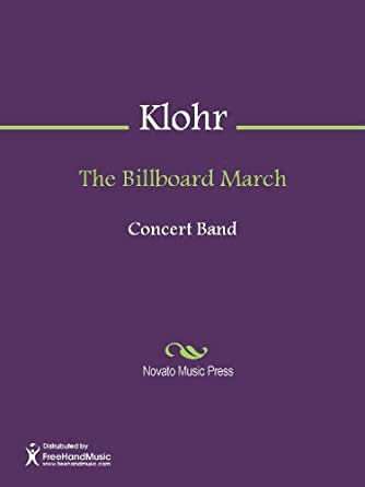 The Billboard March - Bass Clarinet