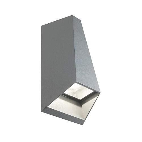 Applique da Esterno a LED 2x4W Doppia Emissione Sovil Dakota Grigio