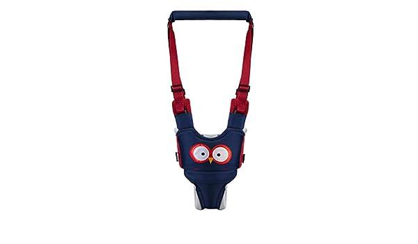 xuanyang524 Cinturón Anti-pérdida para bebés, arnés de Seguridad para niños pequeños Que Caminan 2 en 1 para el Asistente de Aprendizaje Infantil