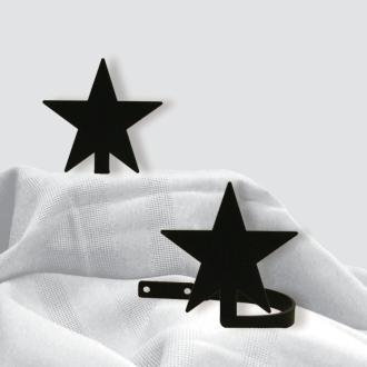 4.75 Inch Star Curtain Tie Backs