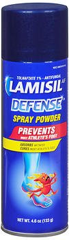 Lamisil AF Defense Spray Powder - 4.6 oz, Pack of 3