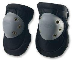 Duratool Hard Knee Pads With Hard Plastic Caps Double Elastic Straps Prevents Thread Abrasion