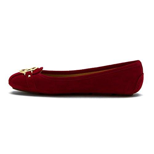 MICHAEL Michael Kors Womens Fulton Moc Red/Cherry QnR3b9