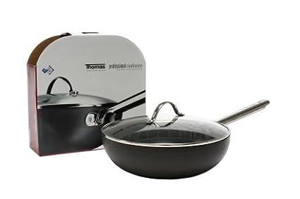 Wok Sartén 28 cm Wok teflón aluminio Thomas Rose nthal Group: Amazon ...