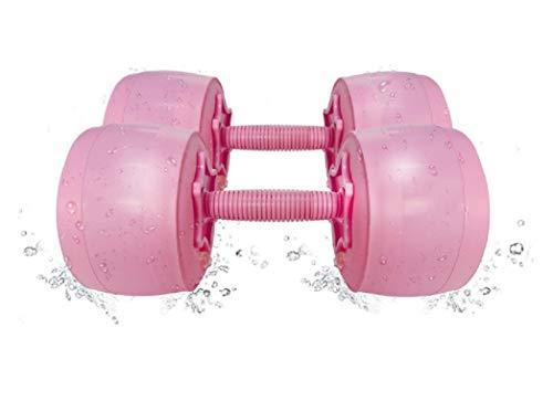 LISM Workout Weights Adjustable Dumbbells Set Womens Dumbbell Set Weights Dumbbells Set for Women Water Dumbbells Travel…