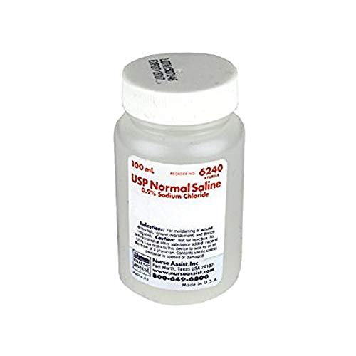 - Nurse Assist Sterile Saline 100ml 3pk